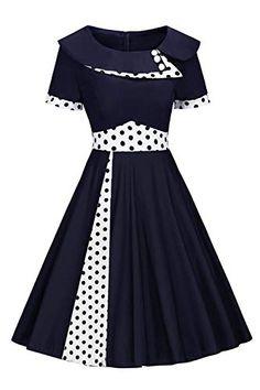 Vintage R/étro Audrey Hepburn Robe de Soir/ée Cocktail en Dentelle Tansparente ann/ée 50 Rockabilly CL870