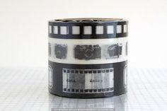 Camera+Japanese+Washi+Tape+-+METALLIC+BLACK $9.00