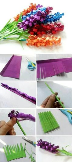 Make Beautiful Paper Flowers