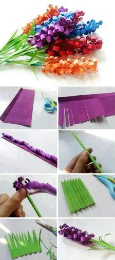 Make Beautiful Paper Flowers