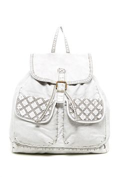 Quilted Back Backpack  by T-Shirt & Jeans on @nordstrom_rack. $29.97.