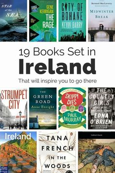 Great Irish Reads: 19 of the Best Books on Ireland - Get inspired to travel to Ireland with one of these nineteen great books set in there. These novels and nonfiction are must reads if you love Ireland. Reading Lists, Book Lists, Reading Books, Literary Travel, Travel Books, Travel Journals, Books To Read, My Books, Ireland Travel
