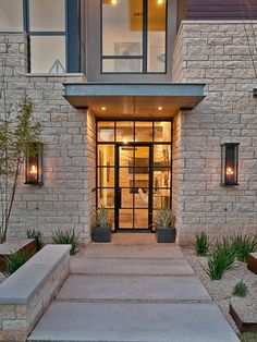 Modern Exterior Front Door Design, Pictures, Remodel, Decor and Ideas