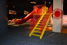 Fire Museum Playground at the North Charleston and American LaFrance Fire Museum in North Charleston, South Carolina #firetruck #firefighter #carolina