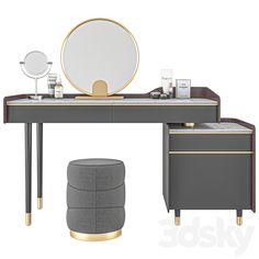 models: Other - Dressing table # 02 Dressing Table Design, Room Planning, Credenza Design, Credenza Furniture, Dresser Table, Furniture Rehab, Ceiling Design Bedroom, Furniture Design Modern, Furniture Design