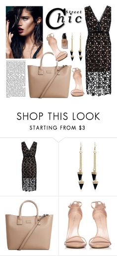"""""""Rosegal 59"""" by merima-kopic ❤ liked on Polyvore featuring MANGO, Stuart Weitzman, e.l.f. and vintage"""
