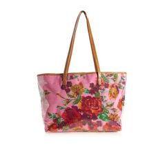 Clever Carriage Town Rose Glace Shopper