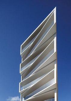 The Aria apartment block, designed by MHN Design Union.