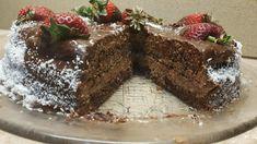 Τέλεια σοκολατένια τούρτα με Νουτέλα.. Για φανατικούς