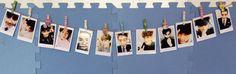DIY EXO OT12 Polaroid Photos