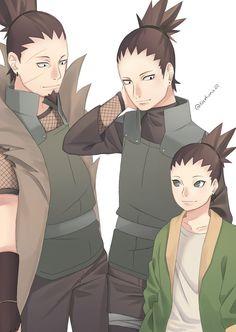 Naruto Uzumaki Art, Naruto Shippuden Characters, Naruto Fan Art, Sakura And Sasuke, Anime Naruto, Anime Characters, Naruto Family, Boruto Naruto Next Generations, Nara