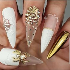 """your success is our reward"" – Ugly Duckling Nails Inc. - Beauty - Make UP Holloween Nails, Halloween Acrylic Nails, Halloween Nail Designs, Best Acrylic Nails, Halloween Ideas, Classy Halloween, Halloween City, Halloween College, Halloween Couples"