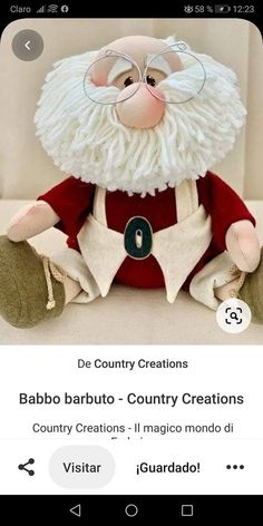 Diy Christmas Wedding, Christmas Crafts, Christmas Decorations, Holiday Decor, Weird Art, Gnomes, Projects To Try, Teddy Bear, Crafty