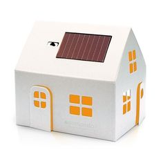 How awesome is this Solar Night Light available from Little Round Window! Perfect for a gender neutral room, and enviro friendly to boot. Solar Panel Lights, Solar Powered Lights, Wall Lights, Umea, Diode Led, Tiger Tribe, Recycling, House Lamp, Solar Panels For Home