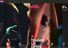 """""""Every sport deserves his chain"""" : Discover the Canalsat website dedicated to sports ! Web Design Examples, Best Web Design, Web Design Awards, Design Trends, Graphic Design Blog, Award Winning Websites, Tennis, Invictus Games, Sports Website"""