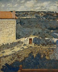 Edouard Vuillard | Landscape - House on the Left, 1900