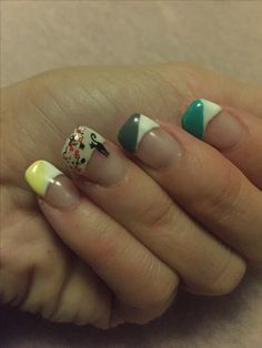 Variation for French Nails