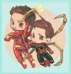 Avengers Infinity War || Iron-Man & Spider-Man || Cr: 壳