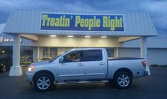 Congratulations Kenny Booe on the purchase of your 2014 Nissan Titan. We appreciate your business & friendship.