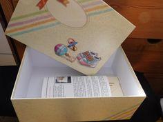 Baby Geschenkset mit Babybox (groß). Erinnerungsbox für Babys erstes Jahr mit Zubehör wie Schutzengel, Karte für Baby Glückwünsche, 3 Organzabeutel und weitere Aufbewahrungsbox :: Manu testet und berichtet