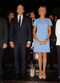 Brigitte Macron à la Philharmonie de Paris