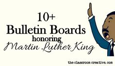 bulletin board ideas for Martin Luther King Jr.
