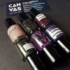 Canvas Lacquer #nailmail