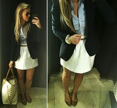 Great summer office outfit : )