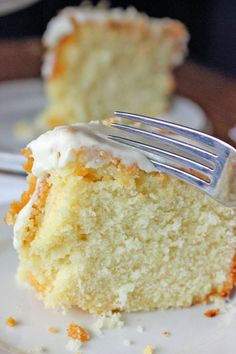 Louisiana Crunch Cake Recipe - Brown Sugar. ☀CQ #southern #recipes