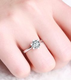 Simplicity is beautiful <3 I don't like gawdy rings...