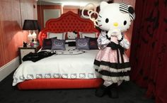 Hello Kitty Suite in Beverly Hills...my dream!!