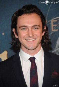 George Blagden - brown hair, blue eyes, can't lose.