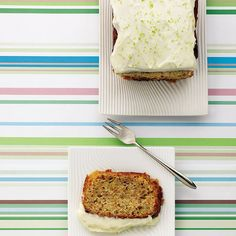Courgette what?! This cake recipe may seem unusual but you'll love the lightness and subtlety of this easy-to-make courgette cake.