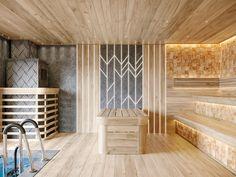 Talc baths on Behance Interior Architecture, Interior Design, 2020 Design, Adobe Photoshop, Baths, Behance, Spa, Design Ideas, Fitness