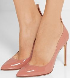Francesco Russo Patent-leather pumps glossy