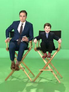 Sheldon and Young Sheldon