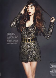 2c09c0ff793a Tiffany from Harper s Bazaar s January 2014 Issue! Girls Generation