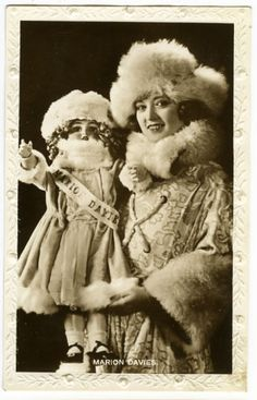 Marion Davies and the Davies doll