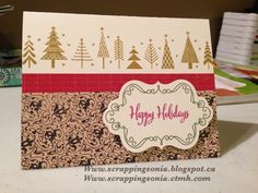 Scrapping Sonia's Paper Projects: Hearts of the West November's Yuletide blog hop