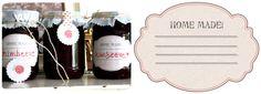 Etiketten-Download für selbstgemachte marmelade