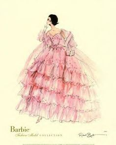 illustration of Barbie: Robert Best