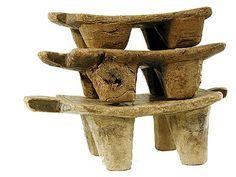 Wooden Lobi Stools