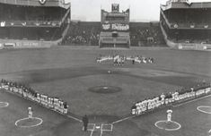 polo grounds new york | New York Mets first home game at the Polo Grounds - April 13, 1962