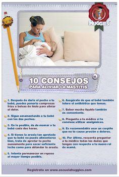 ¿Sabes qué es la mastitis y cómo aliviarla?  http://escuelahuggies.com/Historia/10-consejos-para-aliviar-la-mastitis.aspx