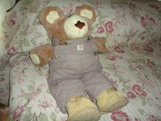Vintage Xavier Roberts Dudley Furskin Plush by TammysFindings, $40.00