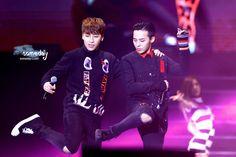 G-Dragon + Seungri | GDYBRI Wuhan Fan Meeting (141213)