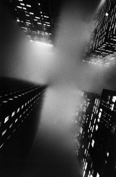 "Ernst Haas, ""The cross, NYC"", 1966"
