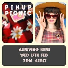 Erstwilder Pin-Up Picnic Series arriving Wednesday 17th  Feb at 3pm