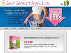Sisters Secrets Weight Loss