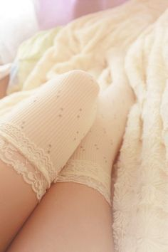 Socks, Stockings, Girls | via Tumblr //Follow Mee: ♡ Kanela Manalo ♡ {Pinterest}\